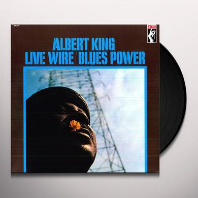 Albert King LIVE WIRE / BLUES POWER Vinyl Record