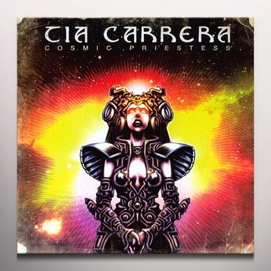 Tia Carrera COSMIC PRIESTESS Vinyl Record - Colored Vinyl, Gatefold Sleeve, Limited Edition, 180 Gram Pressing