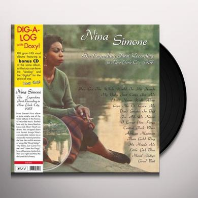 Nina Simone LEGENDARY FIRST RECORDINGS NY Vinyl Record
