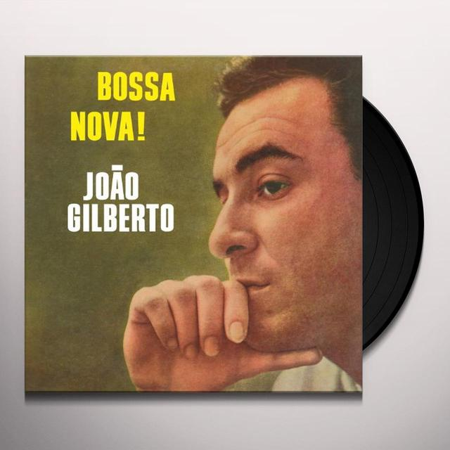 Joao Gilberto BOSSA NOVA Vinyl Record - w/CD, 180 Gram Pressing