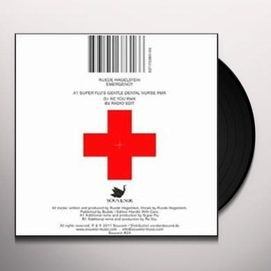 Ruede Hagelstein EMERGENCY REMIXES (EP) Vinyl Record
