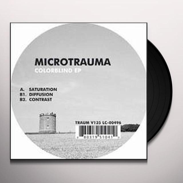 Microtrauma COLORBLIND Vinyl Record