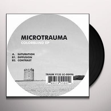 Microtrauma COLORBLIND (EP) Vinyl Record