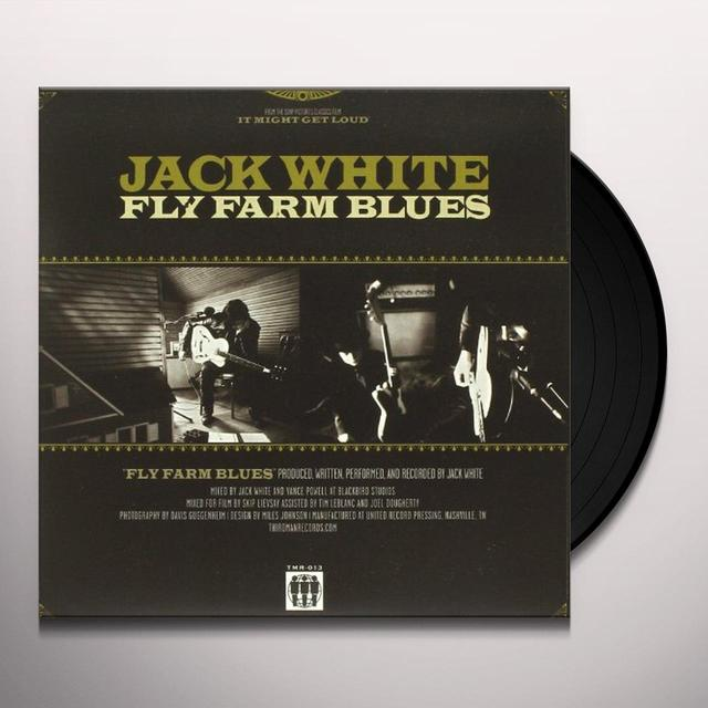 Jack White FLY FARM BLUES Vinyl Record