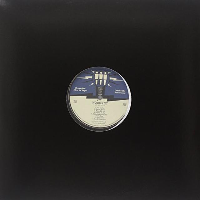 Nobunny THIRD MAN LIVE 05-21-2010 Vinyl Record
