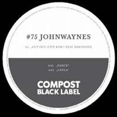 Johnwaynes / Disconine CUT OUT: CITY RAW Vinyl Record