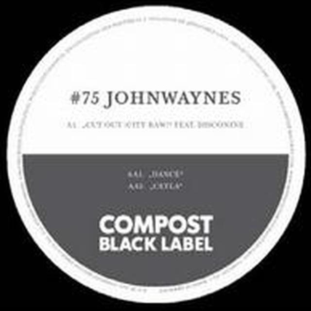 Johnwaynes / Disconine CUT OUT: CITY RAW Vinyl Record