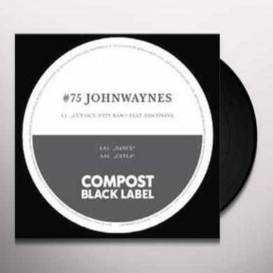Johnwaynes / Disconine CUT OUT: CITY RAW (EP) Vinyl Record