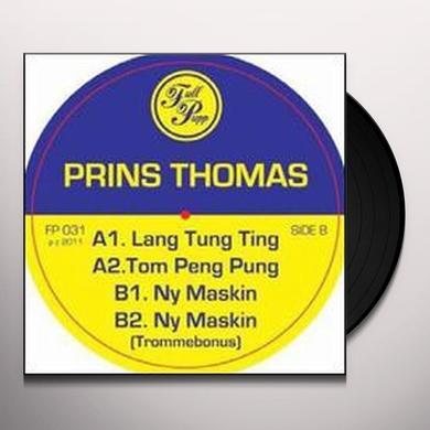 Prins Thomas LANG TUNG TING Vinyl Record