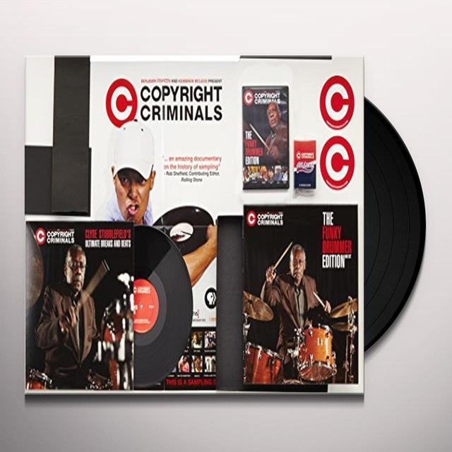 Copyright Criminals FUNKY DRUMMER EDITION / CLYDE STUBBLEFIEL'S (BOX) Vinyl Record