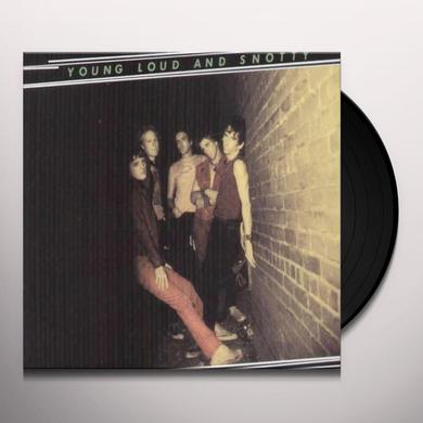 Dead Boys YOUNG LOUD & SNOTTY Vinyl Record - 180 Gram Pressing
