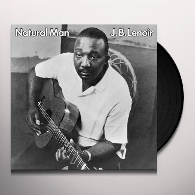 J.B. Lenoir NATURAL MAN Vinyl Record - 180 Gram Pressing