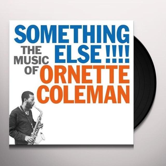 Ornette Coleman SOMETHING ELSE Vinyl Record - 180 Gram Pressing