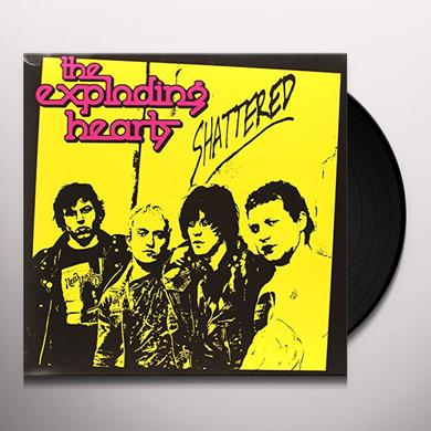 The Exploding Hearts SHATTERED Vinyl Record