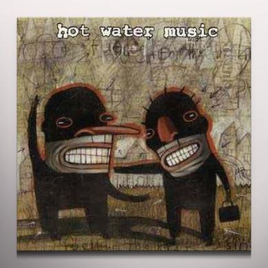 Hot Water Music FUEL FOR THE HATE GAME Vinyl Record - Colored Vinyl