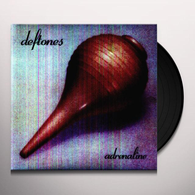 Deftones ADRENALINE Vinyl Record - 180 Gram Pressing