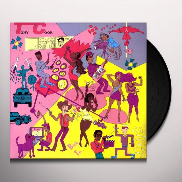 Tony Cook BACK TO REALITY Vinyl Record