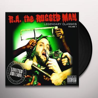 R.A. Rugged Man LEGENDARY CLASSICS 1 Vinyl Record