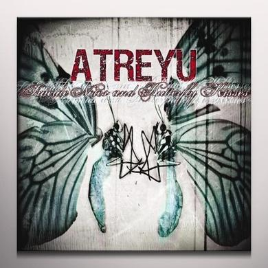 Atreyu SUICIDE NOTES & BUTTERFLY KISSES Vinyl Record - Colored Vinyl