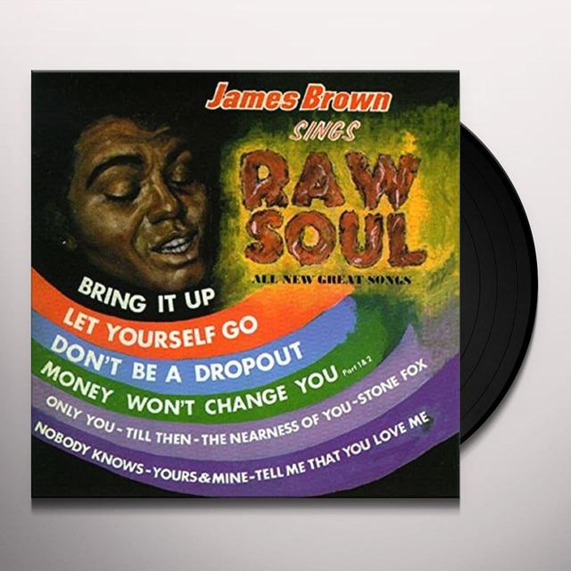 James Brown RAW SOUL Vinyl Record