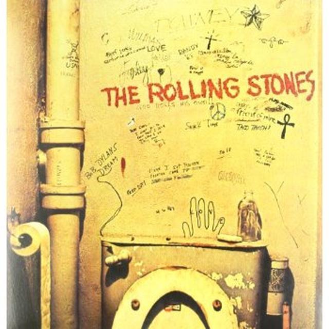 The Rolling Stones BEGGAR'S BANQUET Vinyl Record - 180 Gram Pressing