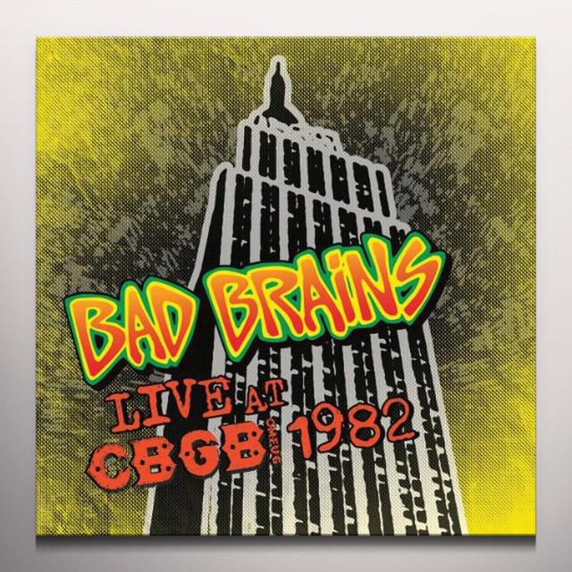 Bad Brains LIVE CBGB 1982 Vinyl Record - Colored Vinyl, Limited Edition