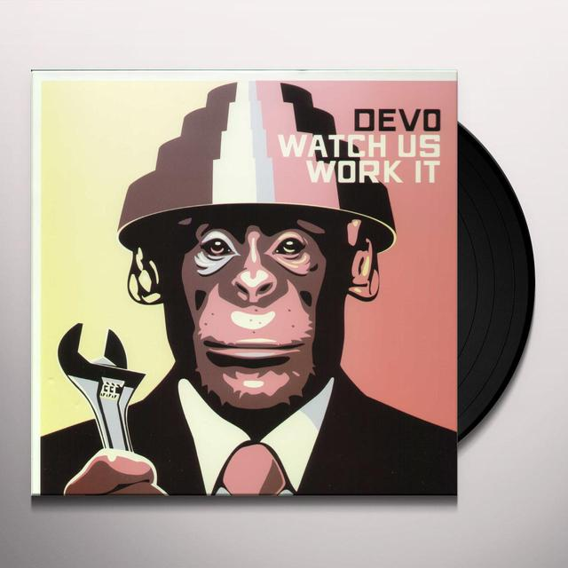 Devo WATCH US WORK IT Vinyl Record