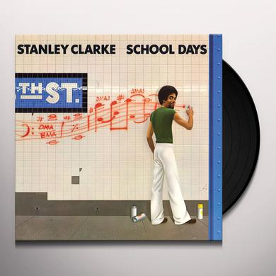 Stanley Clarke SCHOOL DAYS Vinyl Record - Limited Edition, 180 Gram Pressing