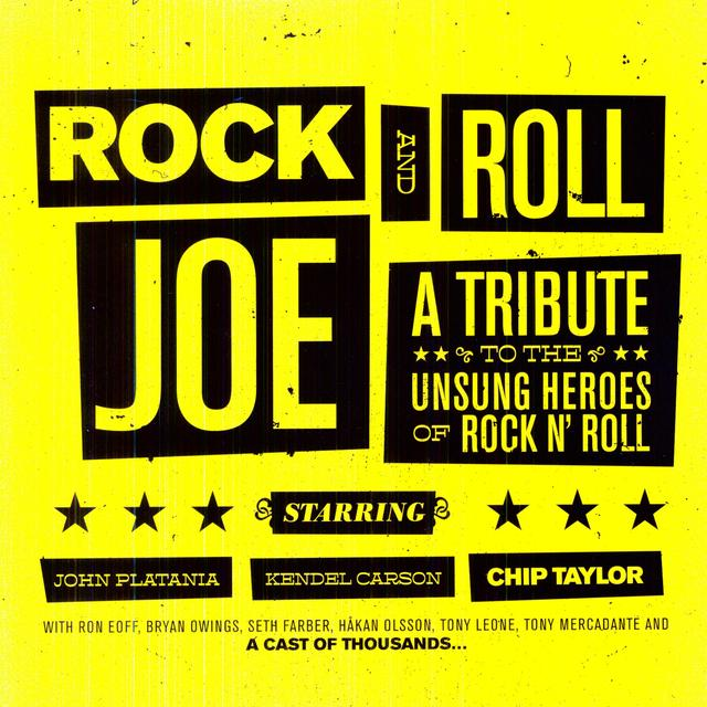 Chip Taylor ROCK & ROLL JOE Vinyl Record
