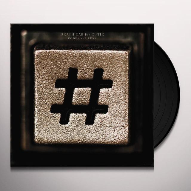 Death Cab For Cutie CODES & KEYS Vinyl Record - 180 Gram Pressing