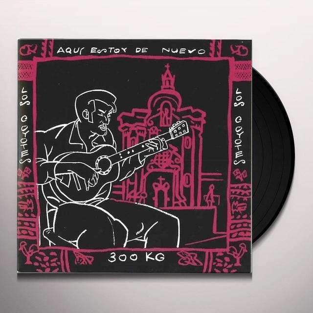 Coyotes AQUI ESTOY DE NUEVO Vinyl Record