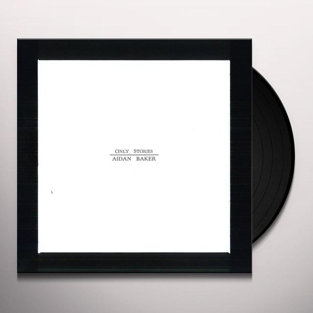 Aidan Baker ONLY STORIES Vinyl Record