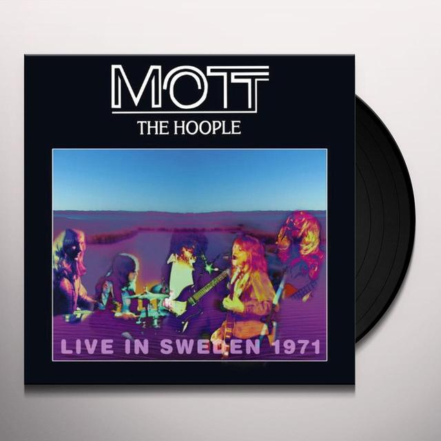 Mott The Hoople LIVE IN SWEDEN 1971 Vinyl Record