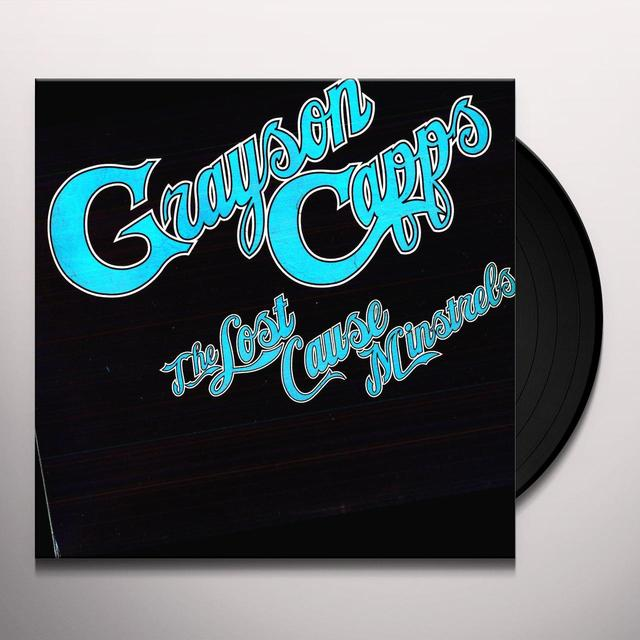 Grayson Capps LOST CAUSE MINSTRELS Vinyl Record