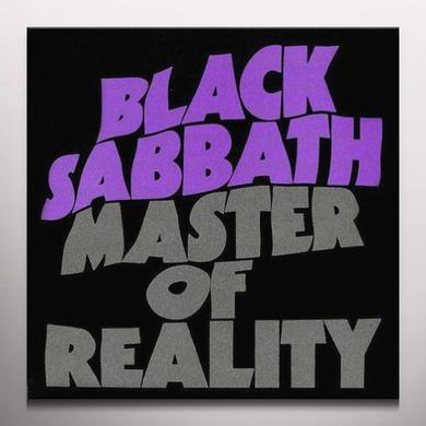 Black Sabbath MASTER OF REALITY Vinyl Record - Colored Vinyl