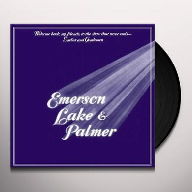 Emerson, Lake & Palmer WELCOME BACK MY FRIENDS Vinyl Record - 180 Gram Pressing