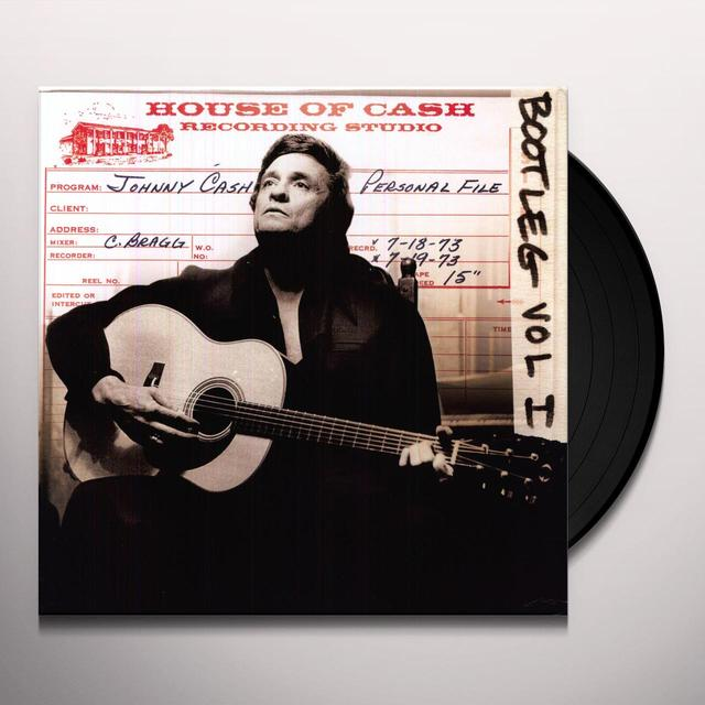 Johnny Cash BOOTLEG 1 PERSONAL FILE Vinyl Record - Holland Release