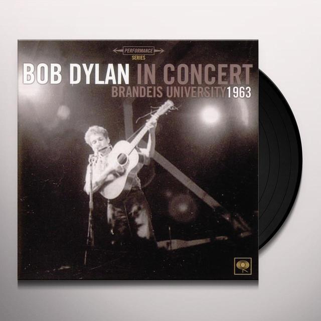Bob Dylan BRANDEIS UNIVERSITY 1963 Vinyl Record - 180 Gram Pressing