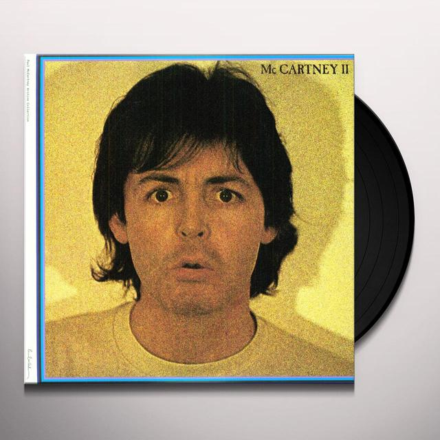Paul Mccartney MCCARTNEY II Vinyl Record - 180 Gram Pressing, Remastered, Digital Download Included