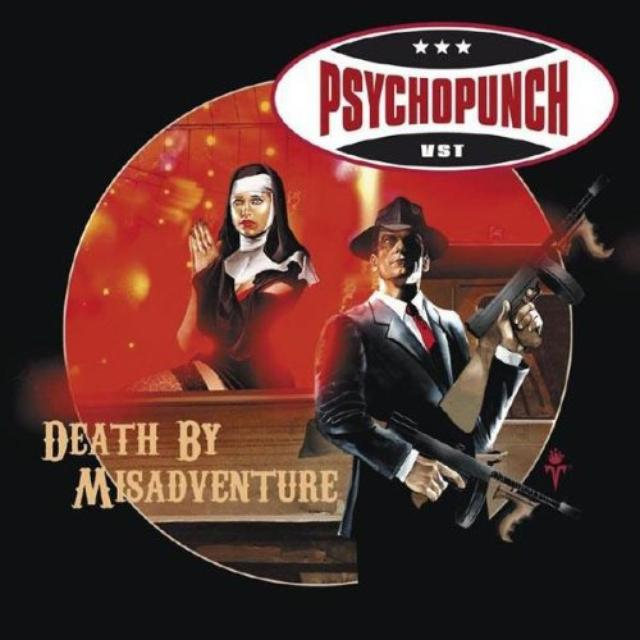 Psychopunch DEATH BY MISADVENTURE Vinyl Record