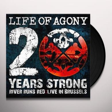 Life Of Agony 20 YEARS STRONG / RIVER RUNS RED: LIVE Vinyl Record