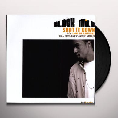 Black Milk SHUT IT DOWN Vinyl Record
