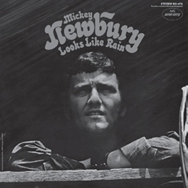 Mickey Newbury LOOKS LIKE RAIN Vinyl Record