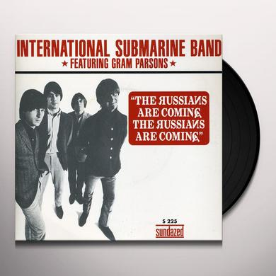 International Submarine Band RUSSIANS ARE COMING / TRUCK DRIVING MAN Vinyl Record