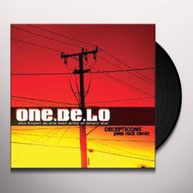 Pete One Be Lo / Rock DECEPT Vinyl Record
