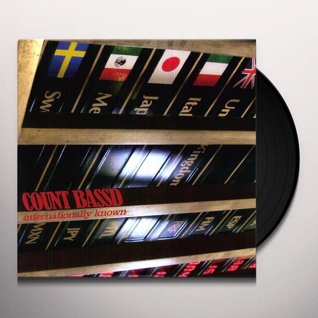 Count Bass D INTERNATIONALLY KNOWN Vinyl Record