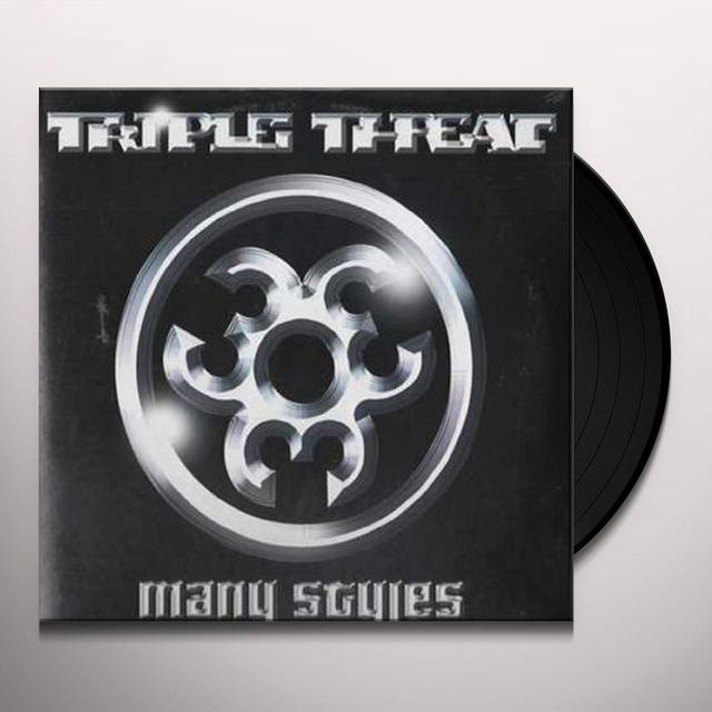 Triple Threat MANY STYLES Vinyl Record