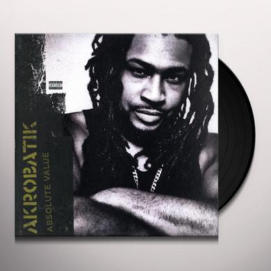 Akrobatik ABSOLUTE VALUE Vinyl Record