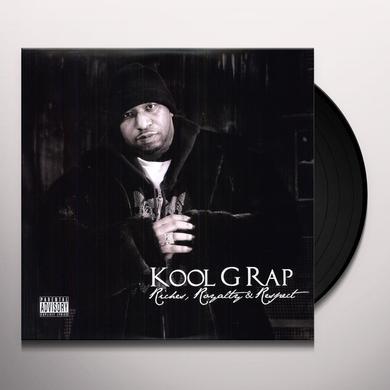 Kool G Rap RICHES ROYALTY RESPECT Vinyl Record