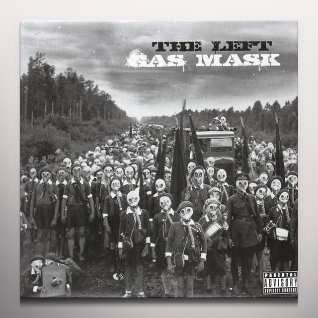 Left GAS MASK Vinyl Record